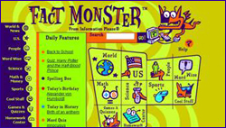 Fact monster homework